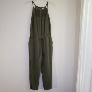 Old Navy Green Jumpsuit